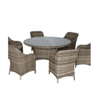 Garden furniture set 10c050a-w 7t143-160ra-w