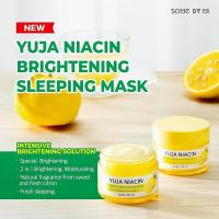 SomebyMi Yuja Niacin BRIGHTENING Sleeping Pack Cream, 60g_3