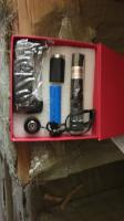 Laser pointer rechargeable red and green