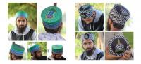 Muslim prayer cap