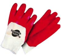 Half coated pvc dipped glove