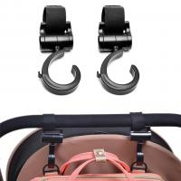 Pikkaboo - 2pcs Multi Purpose 360 Swivel Hooks - Black