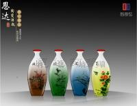 Merlin Bamboo Chrysanthemum- Ceramic vases