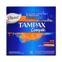 Wholesale Tampax Compak Super Plus with Applicator 16 pcs