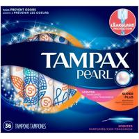 Wholesale Tampax Pocket Pearl Super Absorbency with LeakGuard Braid & Unscented Plastic Tampons - 16ct_3