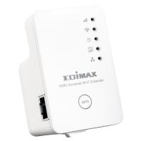 WHOLESALE EDIMAX W-FI EXTENDER :N300 UNIVERSAL W-FI EXTENDER,iQ SETUP 2.0 (UK-PSU)