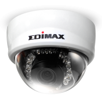 WHOLESALE EDIMAX IP CAMERA : 1MPX MINI FIX DOME NETWORK CAMERA