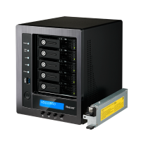 Wholesale 5-BAY SOHO NAS : INTEL CELERON J1900 QUAD CORE SOC,4GB DDR3 SDRAM WITH BUILT IN MINI UPS