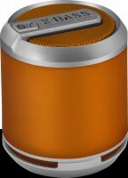 WHOLESALE DIVOOM PORTABLE SPEAKER : BLUETUNE SOLO ORANGE - X-BASS Bluetooth