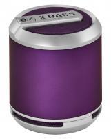 WHOLESALE DIVOOM PORTABLE SPEAKER : BLUETUNE SOLO PURPLE - X-BASS Bluetooth