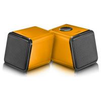 WHOLESALE DIVOOM LAPTOP SPEAKER : IRIS-02 ORANGE Stereo 2.0 USB speaker system