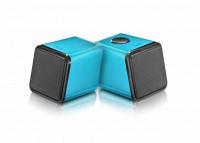 WHOLESALE DIVOOM LAPTOP SPEAKER : IRIS-02 BLUE Stereo 2.0 USB speaker system