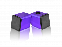 WHOLESALE DIVOOM LAPTOP SPEAKER : IRIS-02 PURPLE Stereo 2.0 USB speaker system