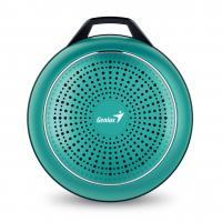 WHOLESALE SPEAKER : SP-906BT PLUS 10 HOURS PLAY TIME, 780MAH BATTERY WITH CARABINER LINE IN CABLE, FRESH GREEN