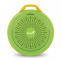 WHOLESALE SPEAKER : SP-906BT, 5 HOURS PLAY TIME, 500MAH BATTERY WITH CARABINER - FRESH GREEN