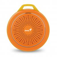 WHOLESALE SPEAKER : SP-906BT, 5 HOURS PLAY TIME, 500MAH BATTERY WITH CARABINER - BOLD ORANGE