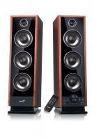 WHOLESALE SPEAKER : SP-I220 ORANGE - slim speaker with 3D surround