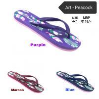CITIZEN Ladies Hawai - PEACOCK slippers