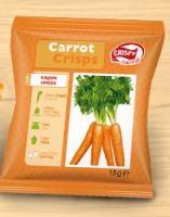 Carrot crisps