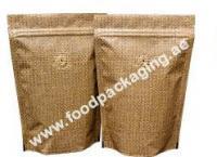 Golden jute fiber bags