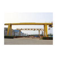 MH 3.2t~20t Box Structure Single Girder Electric Hoist Gantry Crane