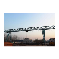Mh 5t~20t trussed structure single girder electric hoist gantry crane