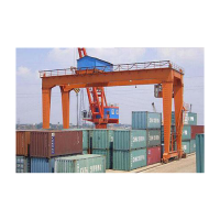 Rail Mounted Container Crane