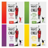 Mighty African Chilli Sauces