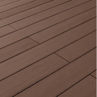 Outdoor flooring: red brown