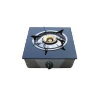 Single burner table top gas cooker with safety device: gt-671r-ffd