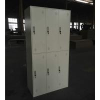 Narrow frame steel locker-6 door