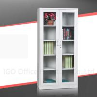 Glass Door Metal File Cabinet