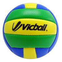 Pvc machine stitch volleyball- green