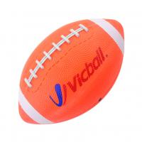 American football rubber material orange color