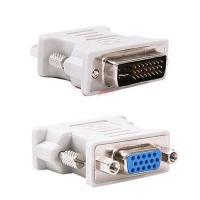 Vga female to dvi 24+5 male connector