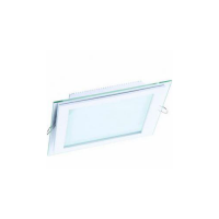 DL LED GLASS KVADRO PANEL 12W 3000K