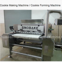1000mm deposited / extruded cookie making machine