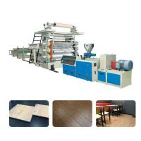 Pvc rigid flooring machine