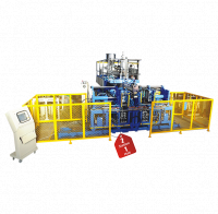 DOUBLE STATION TYPE AUTOMATIC BLOW MOULDING MACHINE