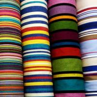 PP Woven Fabrics with Different Colored Strips