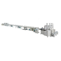 PP-R/Fiberglass Reinforced Composite Pipe Extrusion Line
