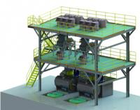 Full automatic weighing and conveying system