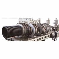 SBG200-1200 Double Wall Corrugated Pipe Extrusion Line
