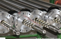 Screw barrel for extrusion machine