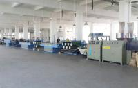 Lawn straight wire drawing machine