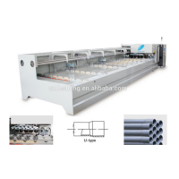 Pvc double line belling machine