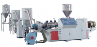 PVC PE twin-screw pelletizer