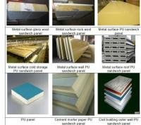 Pu sandwich panel continuous