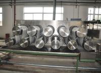 Eleven roll drafting machine