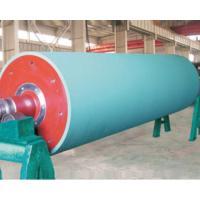Flex banner rubber roller